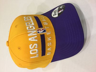 c7e49275d74 ADIDAS LOS ANGELES Lakers Authentic Practice Structured Adjustable ...