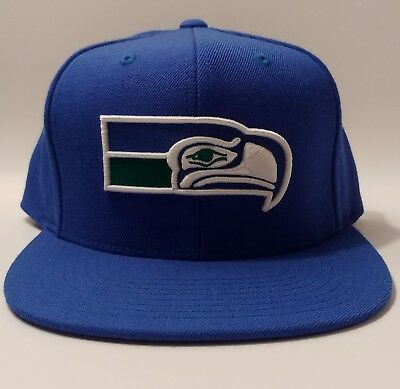 42a2dce61fc6d NEW Seattle Seahawks MITCHELL   NESS VINTAGE NFL COLLECTION Snapback Hat   30.00