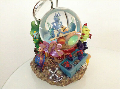 Disney Pixar A Bug's Life Snowglobe Musical Large Extremely Rare New(Toy Story 2