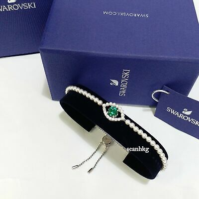 Luckily Bracelet, Evil eye Green,  RHS Crystal SWAROVSKI Authentic MIB 5429733