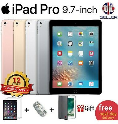 "Apple iPad Pro 9"" 9.7 32gb/128/256GB WiFi Cellular 7in 7 Retina Unlocked 4G Wi F"