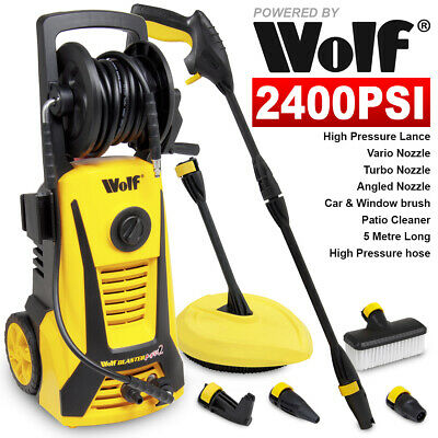 Electric Pressure Washer 2400psi Water Power Jet Sprayer High Power Garden Car