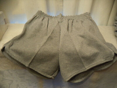 Vinatge NOS russell athletic poly/cotton/RAYON OXFORD gym shorts Size M YOUTH