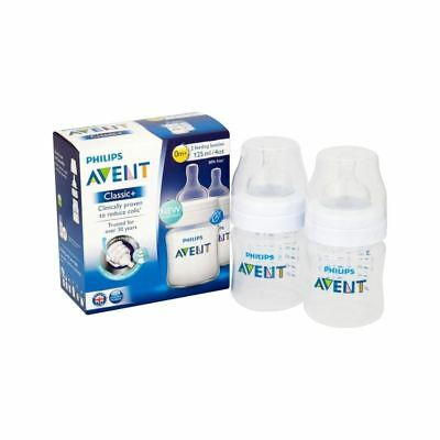 Avent Classic Plus Bottle 4oz Twin Pack - Pack of 6