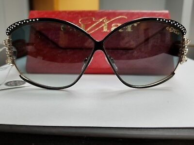 39bbb7bd3068 CAVIAR 5627 SUNGLASSES C24 Champagne Series New Authentic Black and Gold -  $195.00 | PicClick