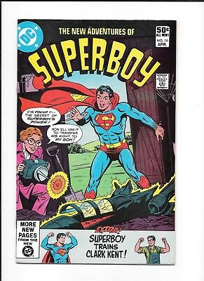 New Adventures Of Superboy #16 (Reader) Dc Bronze