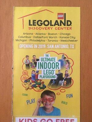 Legoland Discovery Center Kids Go Free w/ Adult Ticket (exp 12/31/18)