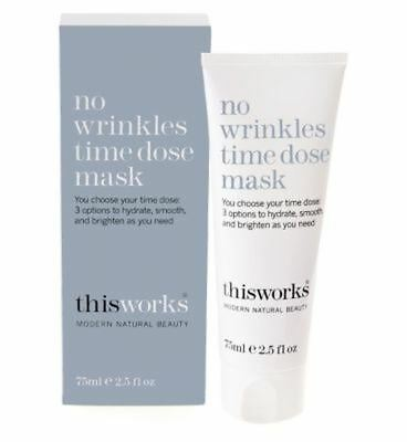 This Works No Wrinkles Time Dose Mask 75Ml - Pack of 2