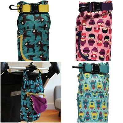 Close Parent Stuff Sack Pop In Dry Bag Wet Nappy Taped Seams Zipped Pocket