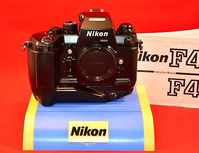 Nikon F4s 35mm Slr Film Camera Body Only Professional Grade
