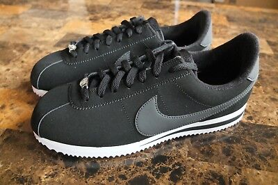 d8d46264fec21 Men s Nike Cortez Basic NBK Black White Metallic Silver 820644-010 various  size