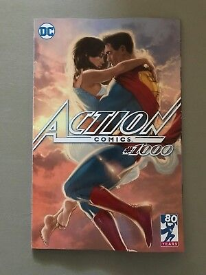 ACTION COMICS 1000 KAARE ANDREWS LIMITED EDITION VARIANT Superman DC Comics