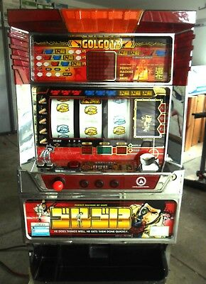Quarter Pachislo Golgo 13 / Mission Impossible Slot Machine / 297 Pg Manual