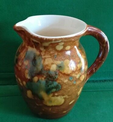 Ewenny Welsh Pottery Gloss Glazed Jug