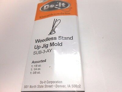 ROCK ISLAND SPORTS DO-IT WORM NOSE SINKER MOLD COMBINED SHIPPING OFFER
