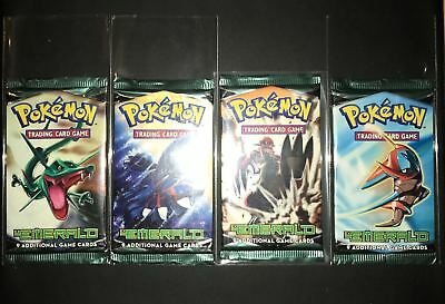 Pokemon Booster Pack Eng Ex Emerald Sealed and Unweighed
