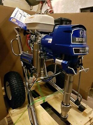 Airless sprayer Graco GMAX 7900 for hire with operator Roof Coating Painting