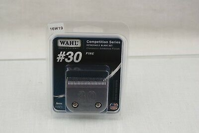 Wahl No. 30 Fine Competition Replacement Clipper Blade 2355-100 16W19