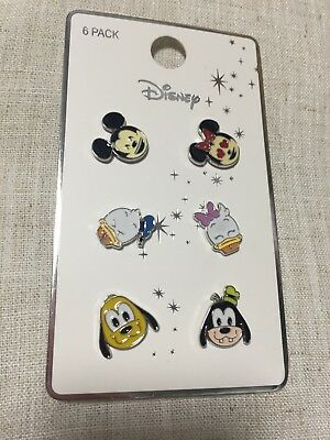 Disney Micky Maus Pluto Goffy Donald Pins Pin Anstecker - New