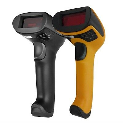 USB 2.0 Handheld Barcode Reader, Laser Bar Code Scanner for POS PC KF