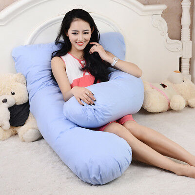 Maternity Pregnancy Pillow Bolster Sleeping Body Support Comfortable Feeding New