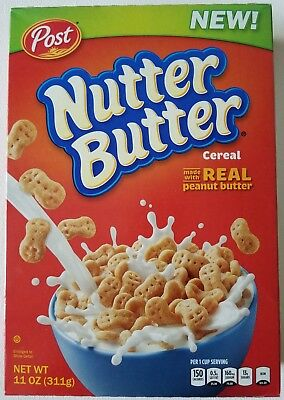 New Post Nutter Butter Cereal 11 Oz Free Worldwide Shipping Usa Seller