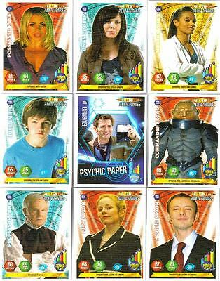Bundle Lot of 150+ Doctor Who Alien Armies Trading Cards - Standard Cards - 2004