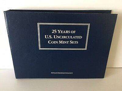 25+5 YearsUS Uncirculated Coin Mint Sets1964-1984 Postal Commemorative Society