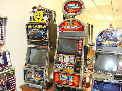 Bally Double Dragon 5 Line 15 Bet 3 Reel & Video Screen For Pays And Bonus Game