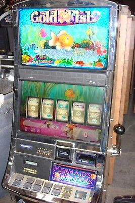 Goldfish 2 Video Slot Machine By Williams Coinless  Casino Fun For Your Home