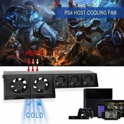 Multifunctional External Cooler Temperature Cooling Fan For PS4 Game Console KF
