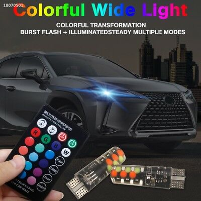Durable Bright RGB with Remote Control Car Wedge Light Parking Tail Rear AFDCEAD