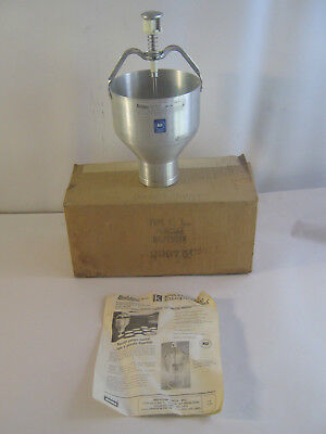 "Commercial Belshaw Type ""K"" Pancake Donut Batter Dispenser Depositor Cone Shape"