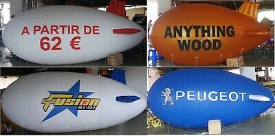 Branded Advertising Blimp Balloon Airship Promoblimp Zeppelin 4 metre