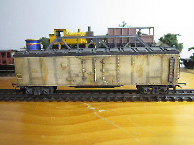 Tri-ang R127 Refigerator Car Weathered