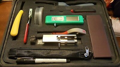 Corning Unicam Fiber Optic Tool Kit TKT-UNICAM with Fault locator and Cleaner