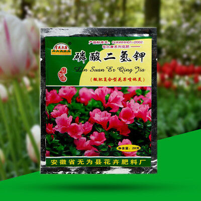 Potassium Dihydrogen Phosphate for Flowers Vegetable Fertilizer Farm Graden 20g
