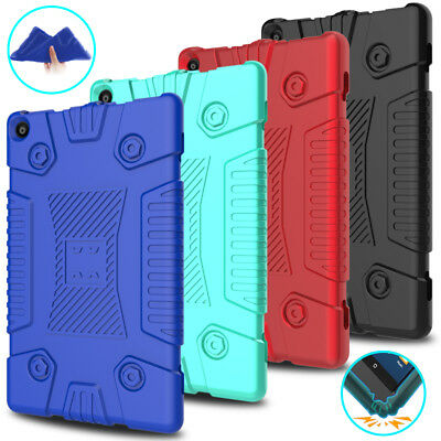 For Amazon Kindle Fire HD 8 8th Gen 2018 / 7th Gen 2017 Soft Silicone Case Cover