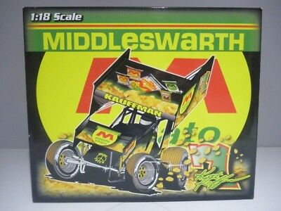 1:18 Scale R&R KEITH KAUFFMAN - MIDDLESWARTH POTATO Dirty Version  Sprint Car