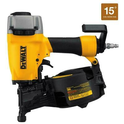 DeWALT DW66C-1 Pneumatic 15-Degree Coil 1-1/4 in. to 2-1/2 in. Siding Nailer