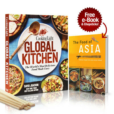 Cooking Light Global Kitchen: World's Most Delicious Food Coobook + Free Gifts