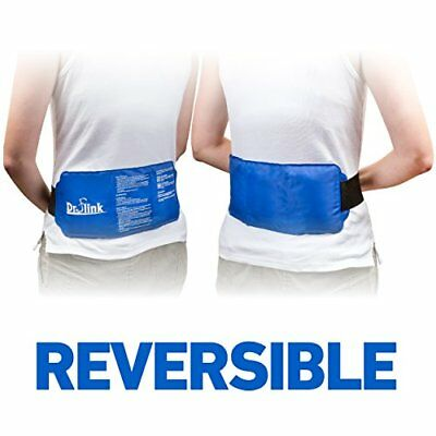 Reusable Ice Pack Gel Wrap Hot Cold Therapy Pain Relief Back Shoulder Neck Ankle