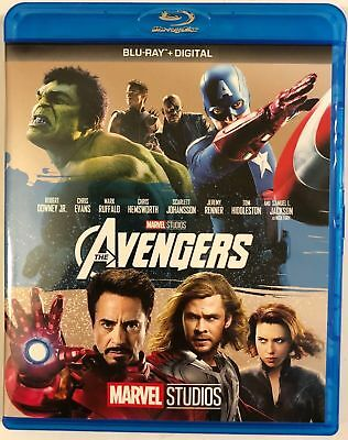 Marvel The Avengers Blu Ray Free Worldwide Shipping Buy It Now Robert Downey Jr