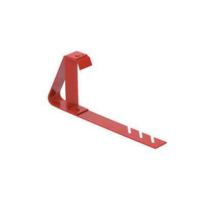 QUAL CRAFT-2502Q 6 In. x 90 Degree Red Fixed Steel Roof Bracket
