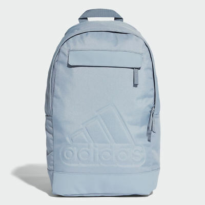 2cdeb95c3d0e Adidas Classic Backpack Rucksack Work Travel Gym School Bag - CG0507 - Blue