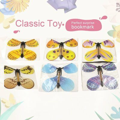 12X Magic Flying Butterfly Birthday Anniversary Wedding Greeting Card Gift ToyKF