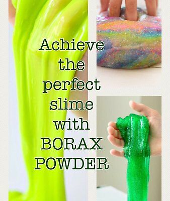 Borax Slime Activator Powder 200g 500g - MAKE YOUR OWN PERFECT SLIME EVERY TIME