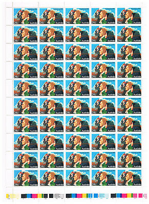 Australia - 1982 Australia Day 24 cent - Half sheet of 50 with gutter - MNH