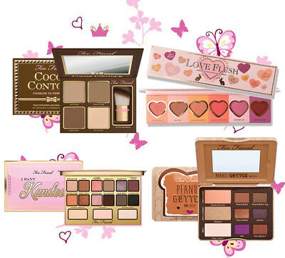 COCOA CONTOUR/PEANUT BUTTER And JELLY/LOVE Flush/Kandee Candy Eyeshadow Palette!