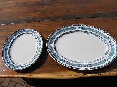 Keeling & Co. Losol Ware Ormonde 2 Serving Plates